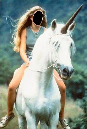 Riding A Unicorn Faceinhole